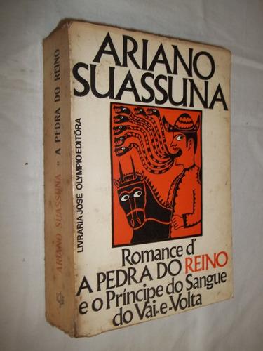 livro - ariano suassuna romance pedra do reino e o principe