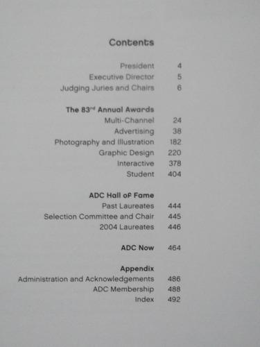 livro - art directors annual 83 - art directors  club