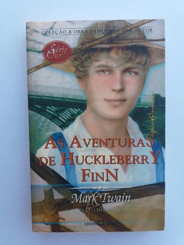livro - as aventuras de huckleberry finn - mark twain