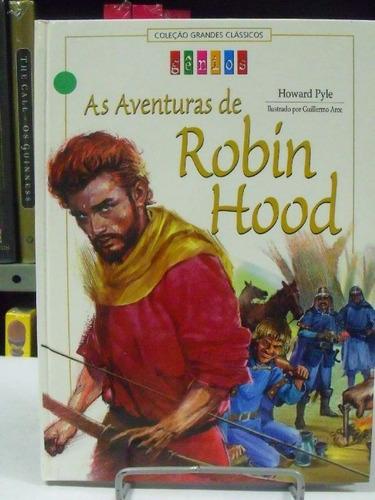 livro as aventuras de robin hood - coleção grandes clássicos