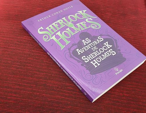 livro as aventuras de sherlock holmes