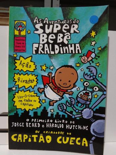 livro as aventuras do super bebê fraldinha jorge beard