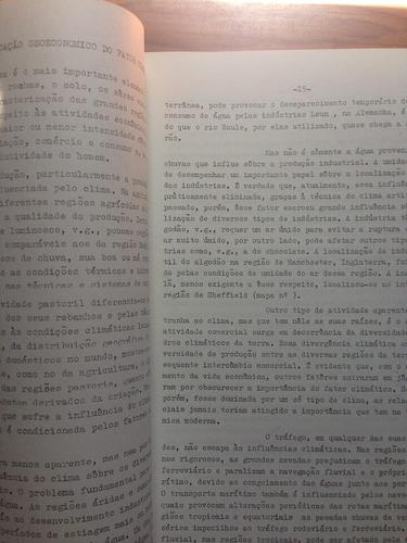 livro: as bases geográficas  da vida econômica - dirceu lino