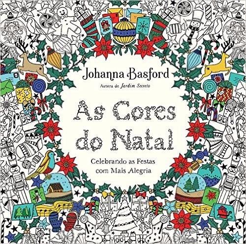 livro as cores do natal - christmas - johanna basford