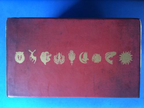 livro - as crônicas de gelo e fogo - box - 5 vols. - leya