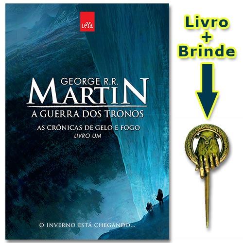 5bb306c82 Livro As Crônicas De Gelo E Fogo - Ed. Comemorativa + Brinde - R  29 ...
