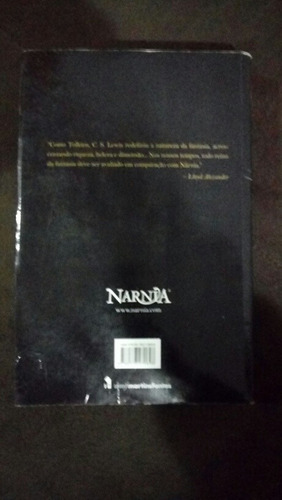 livro as cronicas de narnia volume unico