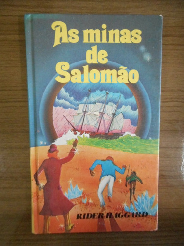livro as minas de salomão rider haggard