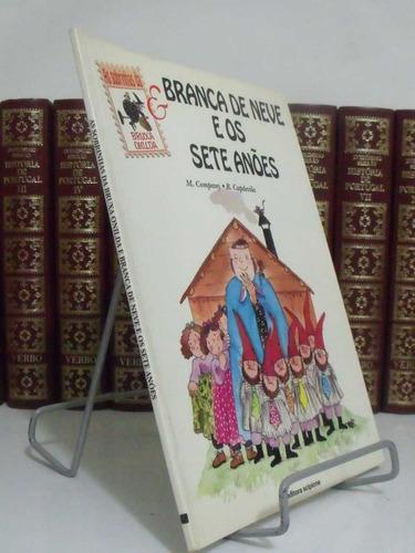 livro - as sobrinhas da bruxa onilda - branca de neve e os 7