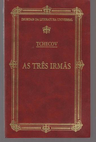livro as três irmãs - anton tchecov
