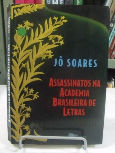 livro assassinatos na academia brasileira de letras