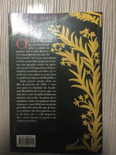 livro assassinatos na academia brasileira de letras jô soare