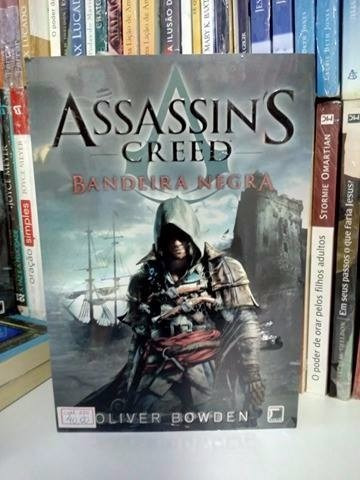 livro assassin's creed - bandeira negra oliver bowden