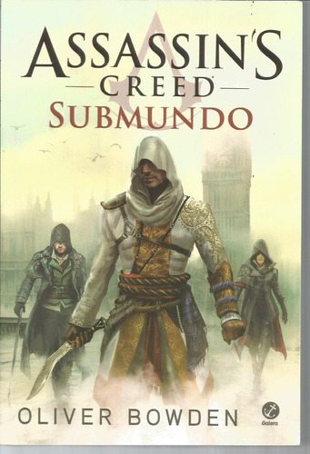 livro assassin's creed submundo - bonellihq cx348 f18