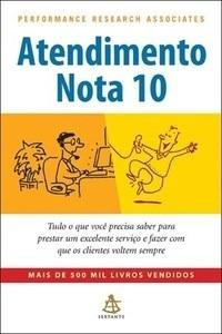 livro atendimento nota 10. performance research associates