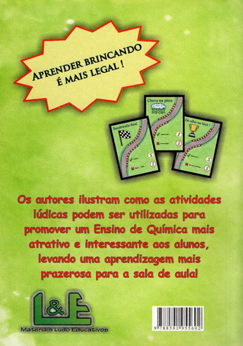 livro atividades lúdicas jogos educação ensino de química