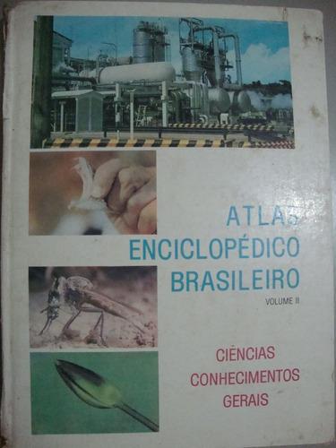 livro  atlas enciclopédico brasileiro   volume  2