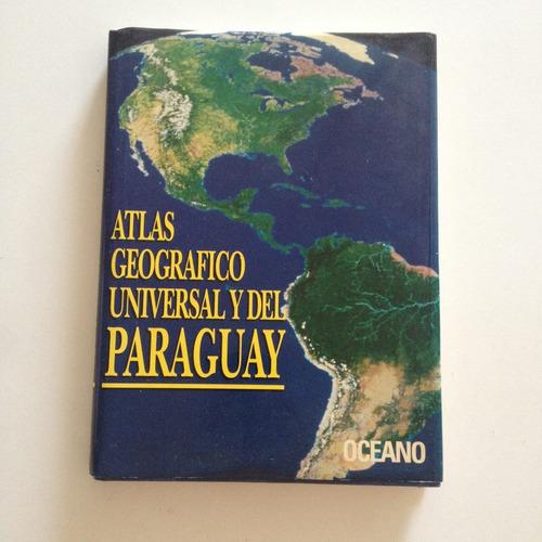 livro atlas geografico universal y del paraguay c2