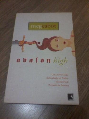 livro avalon high novíssimo