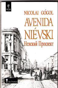 livro avenida nievski - nicolai gogol bilingue russo portug+