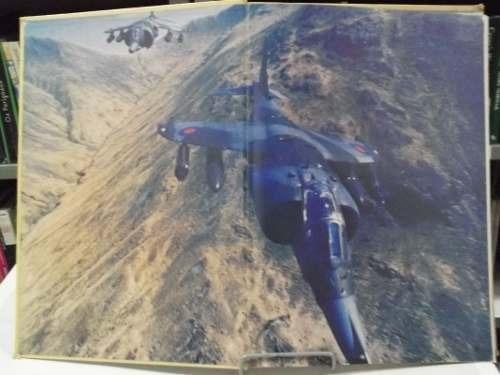livro - aviões de combate - harrier - bill gunston