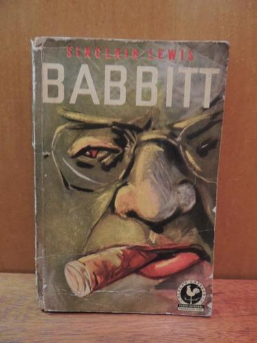 livro babbitt sinclair lewis