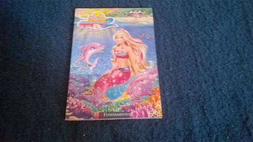 livro barbie em vida de sereia 2