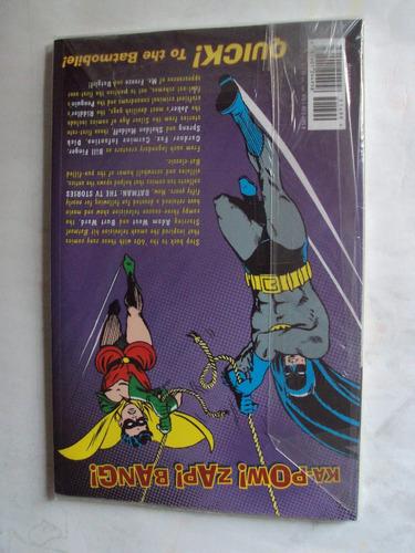 livro batman the tv stories - ed. dc comics