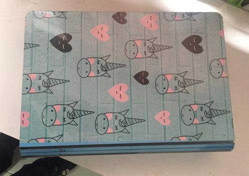 livro bau caixa organizador magic unicórnio  - madeira 30cm