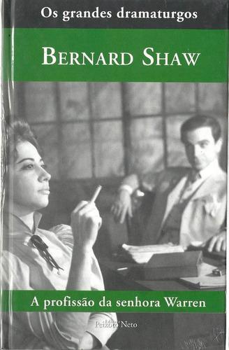 livro bernard shaw - a profissão da senhora warren