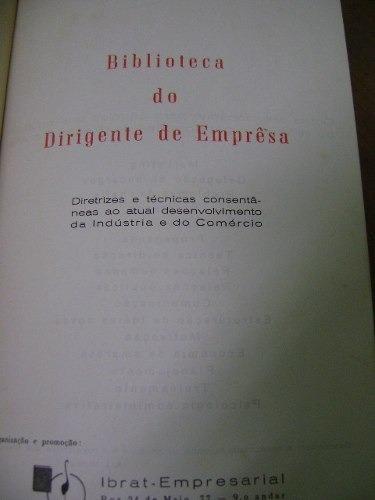 livro biblioteca dirigente empresa marketing comercialização