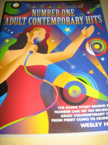 livro billboard book of number one adult contemporary hits