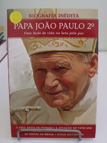 livro - biografia inédita papa joão paulo 2º - publifolha