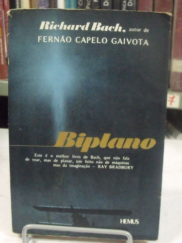 livro biplano - richard bach