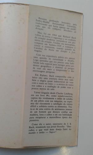 livro - biplano - richard bach