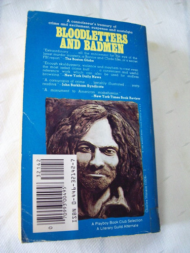 livro: bloodletters and bad men book 3 - charles manson