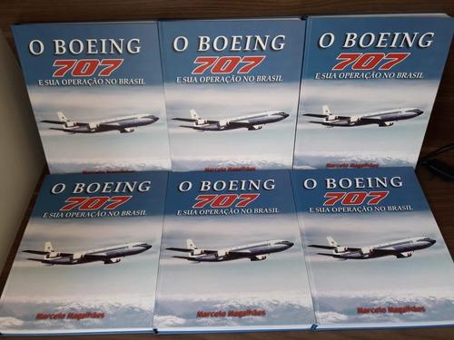 livro boeing 707 e sua operação no brasil