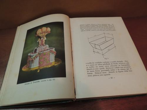 livro bolos artísticos dolores botafogo assinado