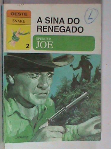 livro-bolso-oeste snake-nº 2-a sina do renegado (usado) $