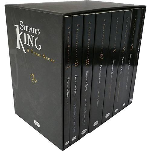 livro box - coleção torre negra - stephen king