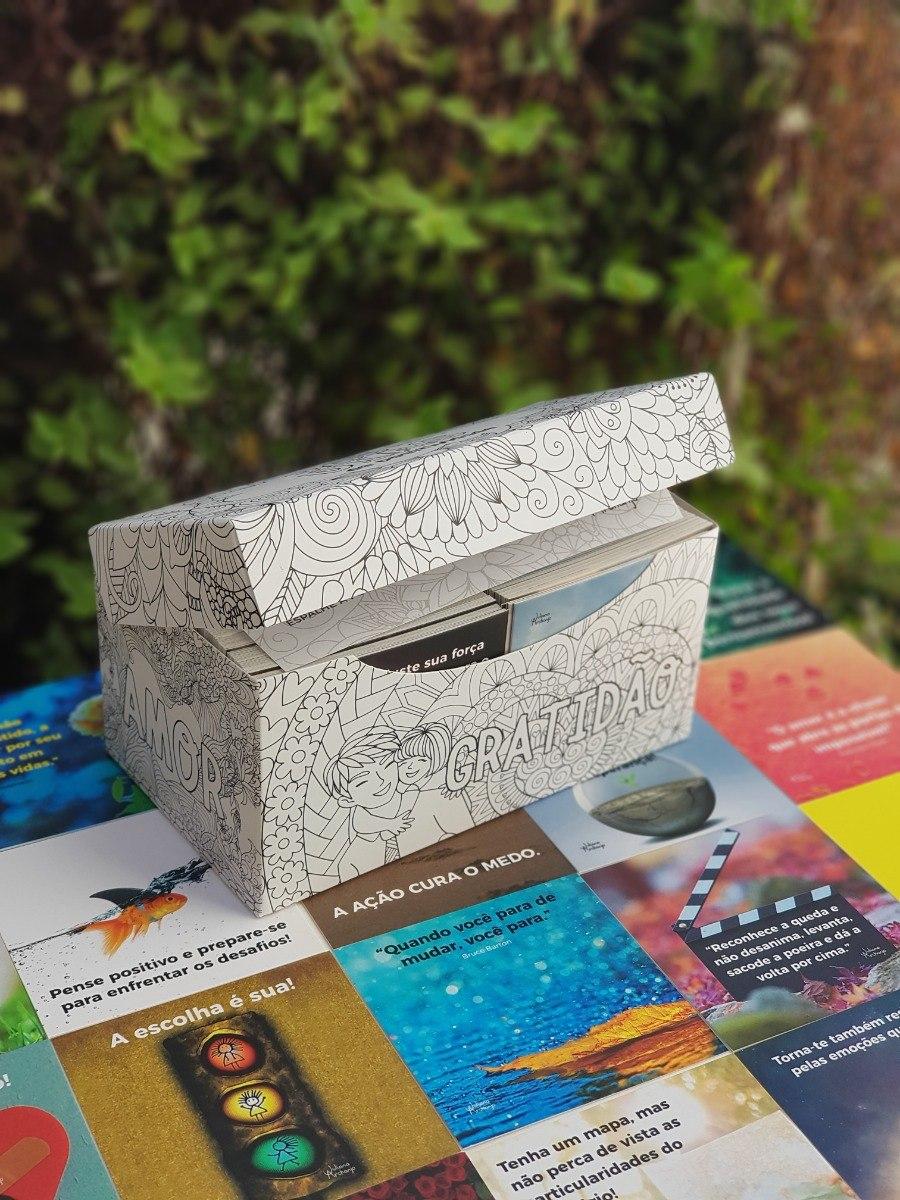 Livro Box Da Positividade Mensagens Motivacionais Diárias