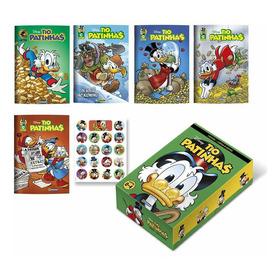 Livro Box Hq Disney Tio Patinhas - E Walt Disney