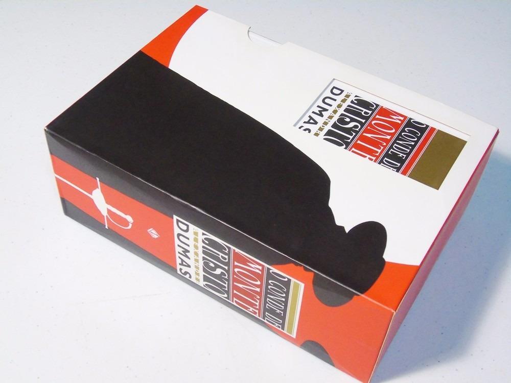livro box o conde de monte cristo alexandre dumas r 311 12 em mercado livre. Black Bedroom Furniture Sets. Home Design Ideas