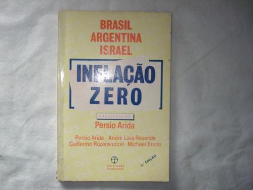 livro - brasil, argentina, israel - inflação zero