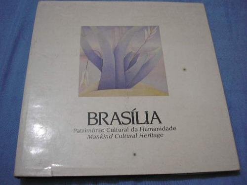 livro  brasília patrimônio cultural da humanidade (capa dura