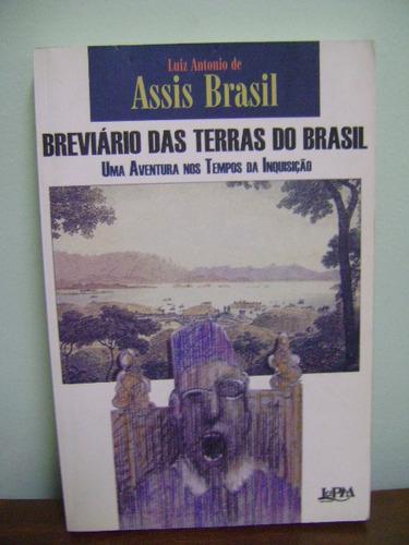livro breviário das terras do brasil luis antonio assis
