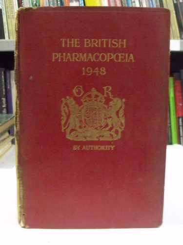 livro british pharmacopceia 1948 -  general medical council
