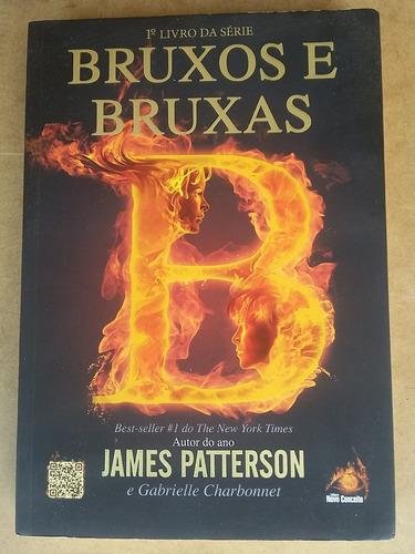 livro bruxos e bruxas - james patterson !!!!