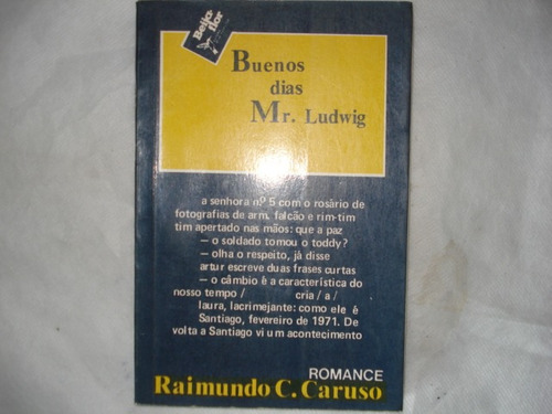 livro - buenos dias, mr. ludwig - raimundo caruso