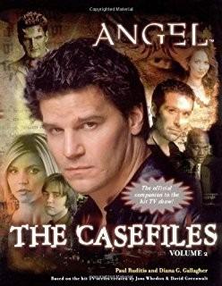 livro buffy angel the casefiles raridade! inglês importado!